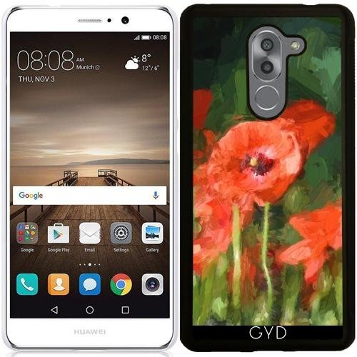 coque-silicone-pour-huawei-mate-9-lite-monet-a-dclar-coquelicots-1-by-utart