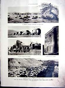 Copie Française 1934 de Troupes de Guerre du Maroc Icht Tamanart