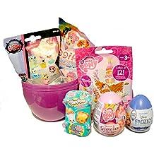 Mega Deluxe Gran sorpresa huevo niños Presente Regalo–Frozen, My Little Pony, Shopkins, magiki sirena & Littlest Pet Shop juguete sorpresas