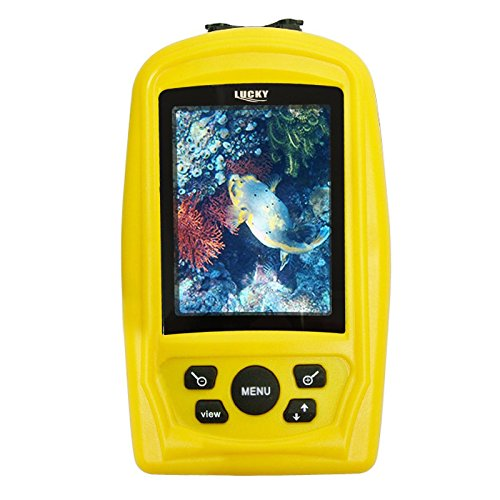 Lucky Fish Finder Monitor with Waterproof 20m Underwater Fish Inspection Camera (Farb-tv 20)