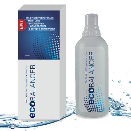 eco BALANCER. Biologisch - Chlorfrei - Günstig. Die Whirlpool und Swim Spa Pflege Alternative auf Enzym Basis
