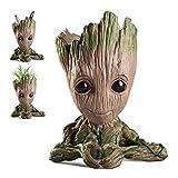 Pawaca Vaso da fiori Groot Vaso Guardiani della galassia, Figurina di Baby Groot portapenne, idea regalo perfetta per bambini