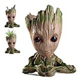 Pawaca Baby Groot Figur Wächter der Galaxy, Groot Blumentopf Groot Stiftehalter, Geschenkideen für Kinder