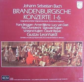 Bach: Brandenburgische Konzerte 1-6 [Vinyl Schallplatte] [2 LP Box-Set]