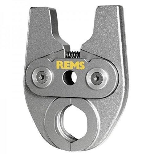 REMS Pressring (Presszangen) Mini V 18 mm, Zubehör für REMS Mini-Press, System AHLSELL A-press koppar, hochbelastbar, aus besonders zähhartem Spezialstahl, systemkonformes, sicheres Pressen
