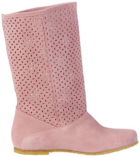 Jonny'sWinona - Stivali senza chiusure, imbottiti Donna Rosa (Pink (antique))