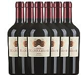 6er Vorteilspaket - Don Mannarone IGT Sicilia 2016 - Mánnara   lieblicher Rotwein   italienischer Wein aus Sizilien   6 x 0,75 Liter