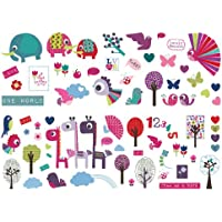 Graham & Brown 017 LR Animal Sanctuary – Wall Sticker preiswert