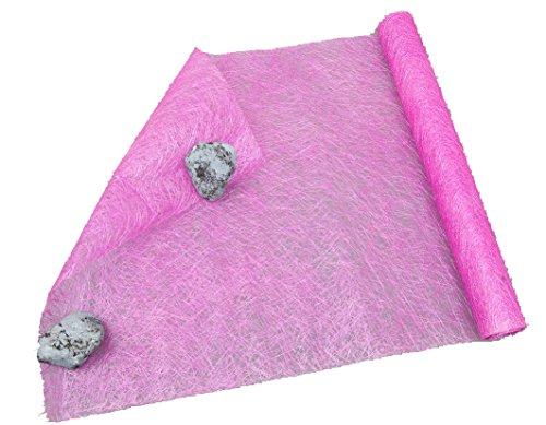 Sisalrolle 50x450cm, Naturprodukt, Pink, 450 x 50 cm