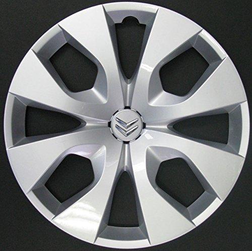 """Lot de 4enjoliveurs neufs pour Citroën C3Picasso modèles à partir de 2010, C3 à partir de 2010, C4 à partir de 2010, C4Picasso à partir de 2006 avec jantes de série 16"""""""