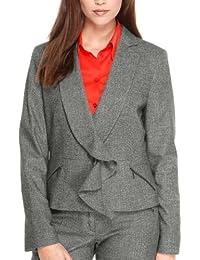 s.Oliver BLACK LABEL Damen Business Blazer 11.210.54.8605, Reverskragen