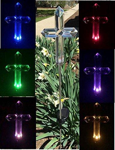 Florals Blumen-Solar-Lampe, solarbetrieben, Garten-Dekoration, Pfahl, Farbwechsel, Yard LED Outdoor Landschaft Licht Aa Nicad