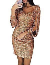 Kleid festlich gold