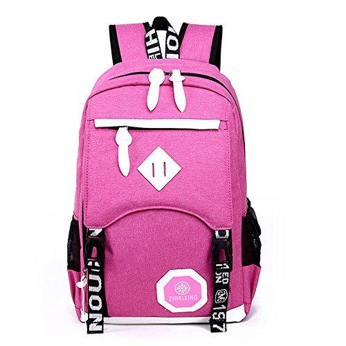 a97a1a157fae7 zeafin niña Travel Bag Mochila Escolar Viaje Mujer Lona Mochila Casual Bag  Outdoor Tiempo Libre daypacks