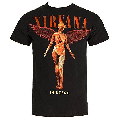 Hombres - Official - Nirvana - Camiseta (M)