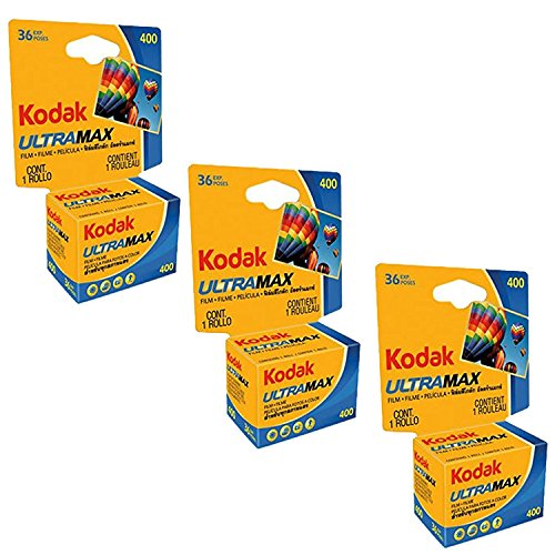 Kodak Ultramax 400 Color Print Film 36 Exp. 35 mm DX 400 135-36 (108 Stück) Basic