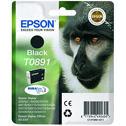 Epson C13T08914011 - Cartucho de tinta, negro