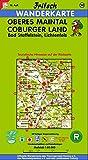 Fritsch Karten, Nr - 50, Oberes Maintal, Coburg, Lichtenfels, Staffelstein - (Fritsch Wanderkarten 1:50000) -