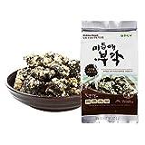 Snack di Riso Dolce e Alghe Spuntino Croccante da Sgranocchiare Snack Aperitivo 40gr (confezione da 8) no-OGM Senza glutine Senza Zucchero