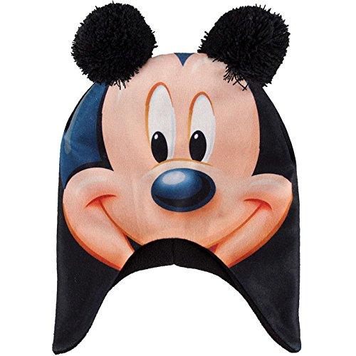 ref3b93-lic529-berretto-pile-topolino-bambino-orecchie-di-topolino-pompon-licenza-ufficiale-topolino