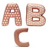 Kids Concept - ABC Buchstabenkissen 3er-Set gefüllt