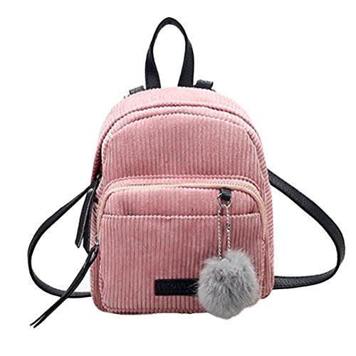 VJGOAL Damen Rucksack, Damen Mädchen Mode Leder Zipper -