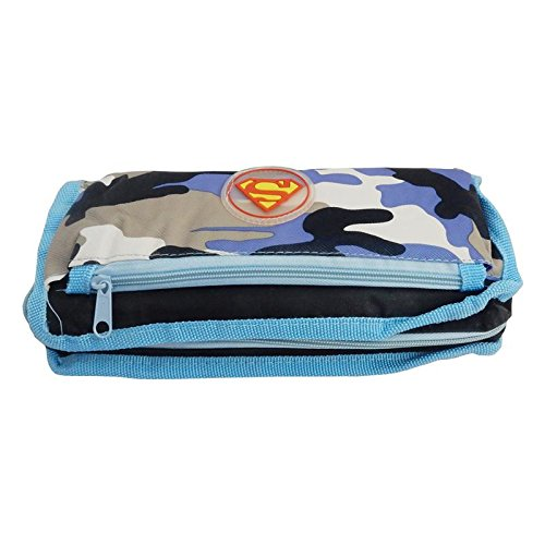 eRunners All in 1 Superman Series Pouch Wallet Mobile Holder Pencil Box for All Ages  available at amazon for Rs.249