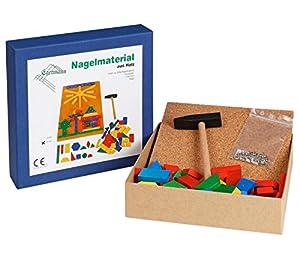 Egermann EH207 / 2 - Juego de uñas Juego de Pesca de Madera, Juguetes de niño