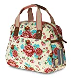 Basil Fahrradschultertasche Bloom Girls-Carry All Bag, Gardenia White, 31 x 10 x 23 cm, 11 Liter, 17590