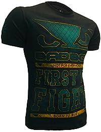 T-Shirt Bad Boy Netting-xxl MMA BJJ Fitness Grappling Camiseta