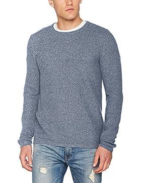 Tom Tailor Basic Crew Neck Sweater, Felpa Uomo