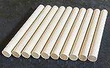 10x Holz Dübel