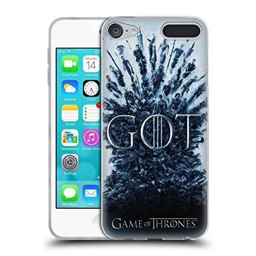 Head Case Designs Offizielle HBO Game of Thrones Aftermath Staffel 8 Schluessel Kunst Soft Gel Huelle kompatibel mit Apple iPod Touch 6G 6th Gen