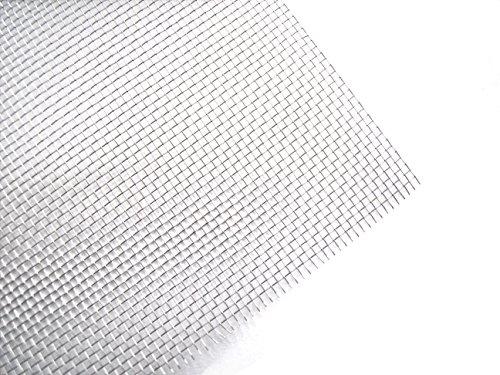 Preisvergleich Produktbild Bewehrungsnetz V4A Edelstahl 300 x 200 mm - Gewebe Netz Gitter zum Kunststoffschweissen (30x20cm)