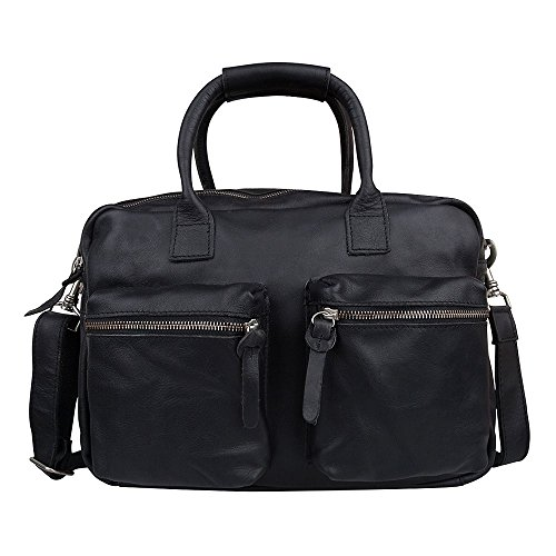 Cowboysbag The Little Bag 1346 Unisex-Erwachsene Henkeltaschen 32x20x14 cm (B x H x T) Black