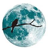 Pared Lunar Luminiscente Creativa Colocada Con Luminiscencia De Ciclo Lunar Fluorescentepared Etiqueta Pegatinas Decoración Para Sala Etiquetas Estar Dormitorio Removible Arte Diy Murales Hogar