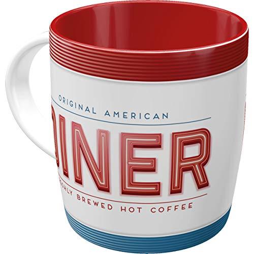 Nostalgic-Art 43014 USA - Diner, Tasse (American Vintage Tee)