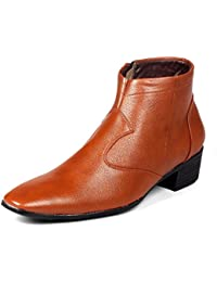 Bxxy Height Increasing Corporate Casual Boots For Men