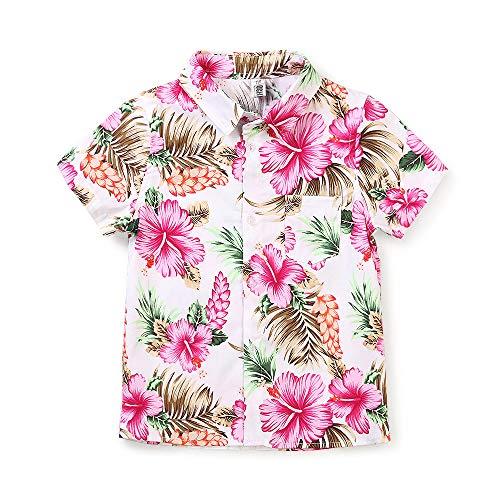 Phorecys - Camisa Manga Corta niño algodón, Playa