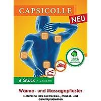 Capsicolle 6er Pack Wärmepflaster & Massagepflaster 12x18 cm preisvergleich bei billige-tabletten.eu