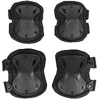 KT 4X Protecciones de rodilleras coderas para moto ciclismo montañismo militares táticos al aire libre deportes