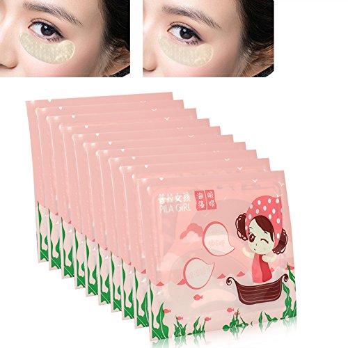 Crema para los ojos - Parche hidratante antiarrugas para eliminar bolsillos y pieles antiedad máscaras para cuidado de los ojos