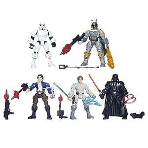 Coffret 5 figurines Star Wars Episode VII Hero Mashers episode 7