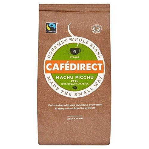 Cafédirect Fairtrade: Machu Picchu Chicchi Di Caffè Organici (227g) (Confezione da 6)