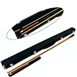 Clearance - Phoenix SINGLE Splice 3/4 Snooker Cue & HARD CASE Set