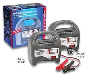 Unitec 77942 Chargeur pour batterie de voiture 6 A