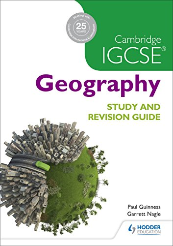 Cambridge IGCSE Geography Study and Revision Guide por David Watson