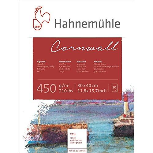 Aquarellblock Cornwall rau 450g/m², 30x40cm, 10Blatt