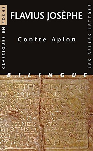 Contre Apion par Flavius Josèphe