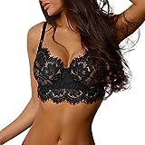 Bfmyxgs Damenmode Bodysuit Underwear Stilvolle Nachtwäsche Höschen Unterwäsche Sexy Dessous Spitze Blumen Drücken Dh